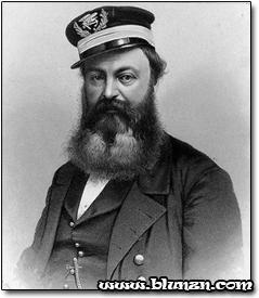 Das Schiff wurde nach dem Bart dieses Typen benannt. Keine Ahnung wer der Typ hinter dem Bart ist...