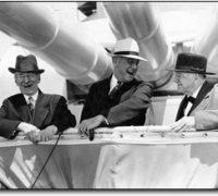Meine Roosevelt'schen Sinne schlagen an...