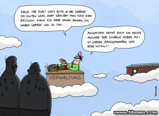 Cartoon Masztalerz/ Charlie Hebdo