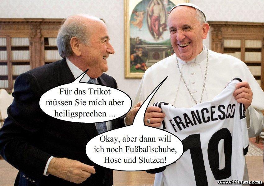 Papst Franziskus/ Sepp Blatter