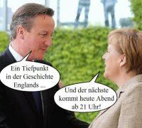 Fotowitz Cameron/ Merkel