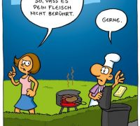 Cartoon/ Fitte Bilder/ Fleisch